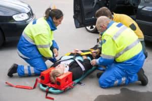 Accident whiplash
